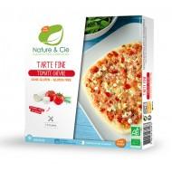 Tarte fine tomates chèvre