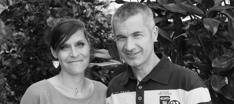 Les co-dirigeants Fabrice Fy et Mélika Zouari