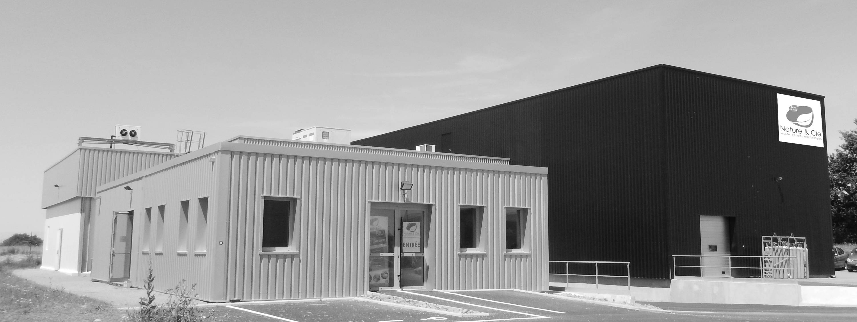 L'usine de production à Vallet