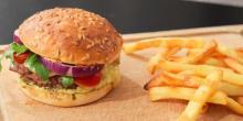 L'originale recette du burger sans gluten