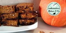 Recette du gâteau potimarron chocolat et noix sans gluten et sans lactose