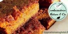 Recette du carrot cake façon pain d'épices sans gluten et sans lactose