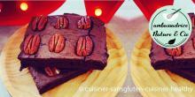 Recette des brownies aux noix de pécan sans gluten et sans lactose