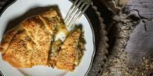 Recette de la tresse feuilletée sans gluten gourmande au poireau