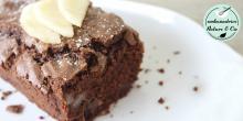 Recette du fondant poire chocolat sans gluten