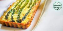 Recette de la quiche aux asperges sans gluten
