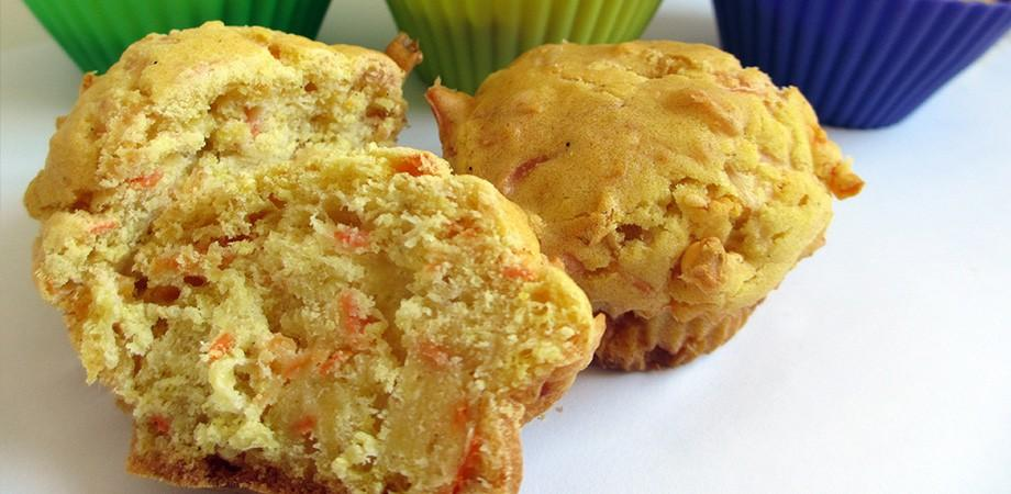 Muffins curry carotte