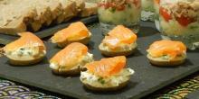 Recette des blinis sans gluten au saumon