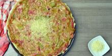 Recette tarte sans gluten poireaux chèvre