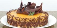 Recette gâteau sans gluten à l'orange et au chocolat
