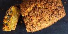 Recette gâteau sans gluten à la carotte