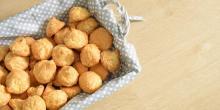 Recette des gougères sans gluten au fromage