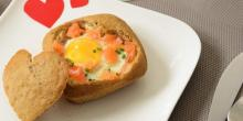 Recette de pains surprise sans gluten pour la Saint Valentin