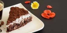 Recette du gâteau sans gluten noix de coco et chocolat